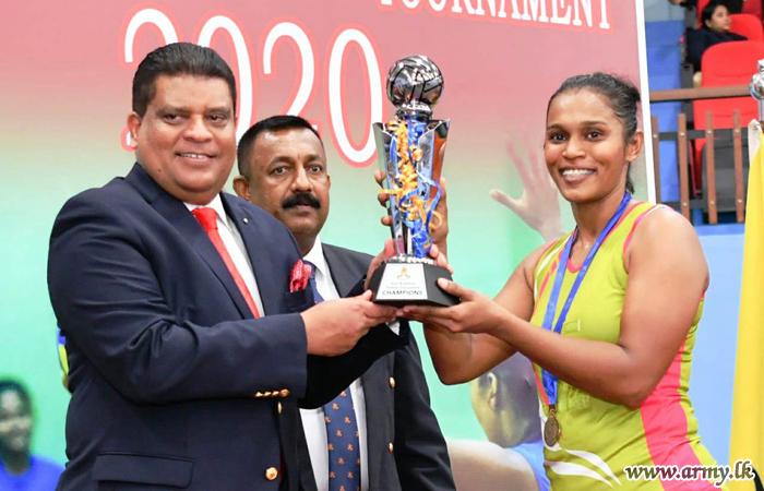 Inter Regiment Netball Championship Finals Played at Panagoda