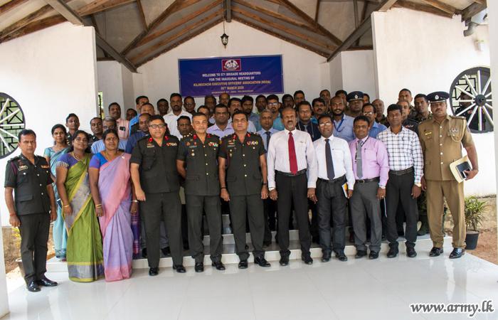571 Brigade Facilitates Founding of the KLN Executive Officers' Association