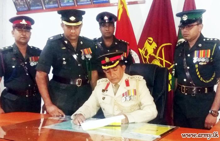 642 Brigade's New Commander Assumes Office