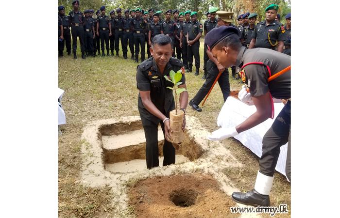 1st Commandant at Puttalam Recruit Training School Takes Office