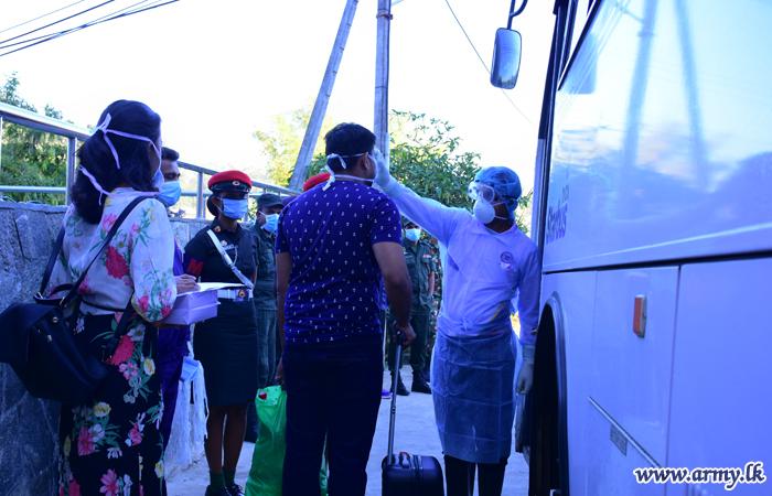 Quarantined 187 More Returnees Proceed Home