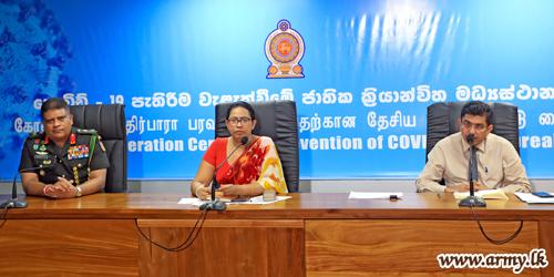 5052 Have So Far Left for Home after Quarantining- Lt Gen Shavendra Silva