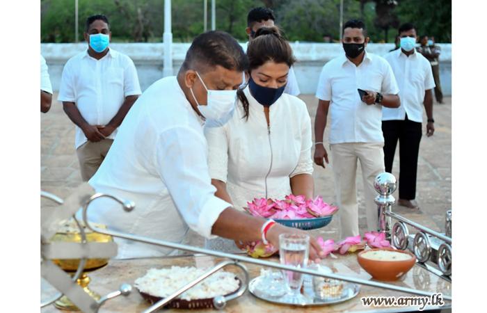 Elaborate Religious Observances at Anuradapura Pray for Eradication of the Deadly Virus