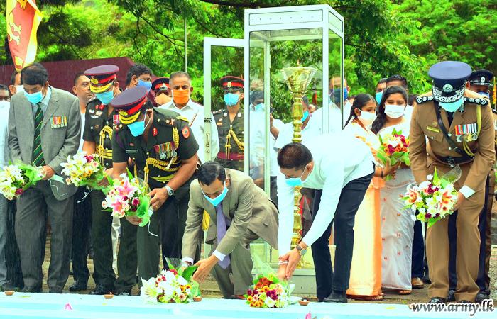 மத்திய மாகாண மைலபிட்டியில் இடம் பெற்ற  போர் வீரர்கள் தினம்