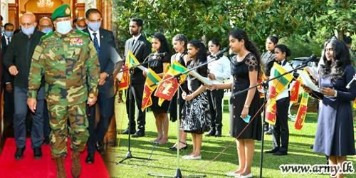 Commander's Leadership in 'Battling The Strongest Enemy Invisible' Honoured & Praised