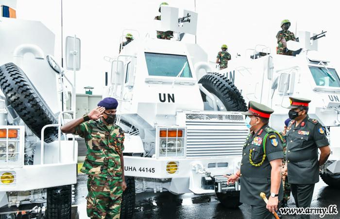 Sri Lanka Army-Manufactured Air-conditioned Mali-bound Unibuffels Ready for Shipment