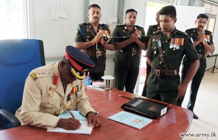 643 Brigade's New Commander Assumes Office