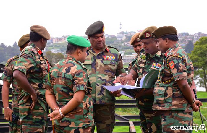 Central Commander, Impressed with 3 SLSR Landscape Setting during First Visit