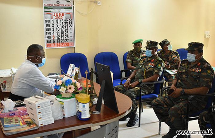 Wanni Commander Reviews Security Arrangements at Madu Feast