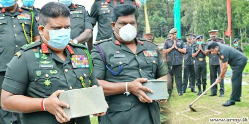 Commander Inaugurates Construction of Holiday Resort in Nuwara Eliya, a Long-standing Need