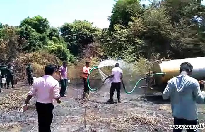 Puttalam Bushfires Brought Under Control
