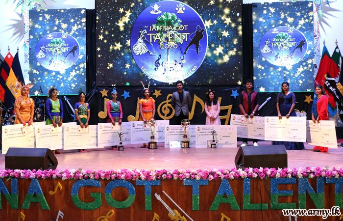 යෞවන කුසලතා එළිදැක්වීමේ 'Jaffna Got Talents' ගායන හා නර්ථන තරඟාවලිය සාර්ථකව නිමාවට