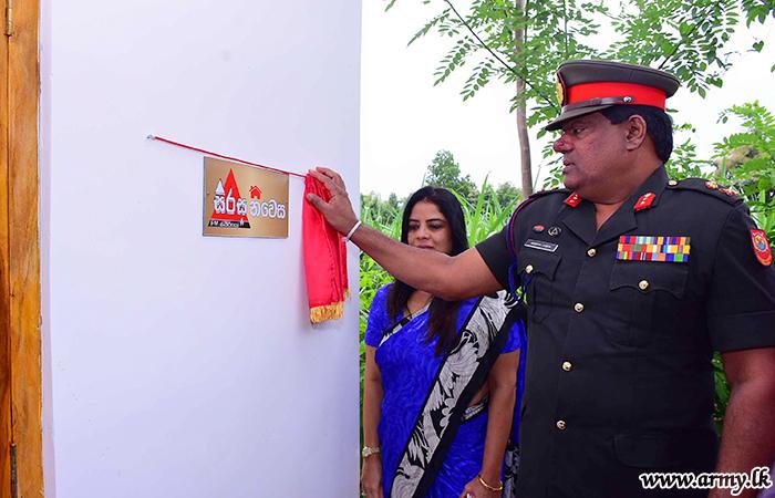 Commander Supports One More 'Sirasa Niwasa' Construction
