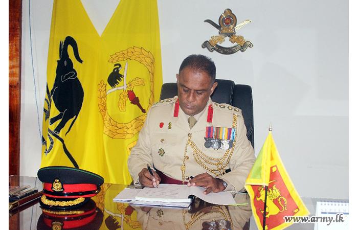 SLAVF Training School's New Commandant Begins Duties