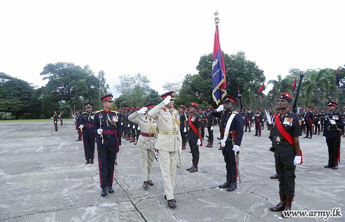 SLA's 132nd Regimental Day Parade Salutes its Colonel Commandant