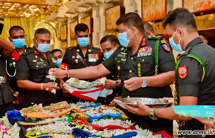 71st Army Anniversary Commemorations Begin Prioritizing Worship of 'Shareerika' Relics at Sri Dalada Maligawa