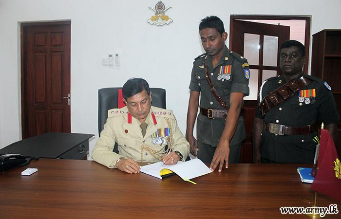 641 Brigade's New Commander Assumes Office