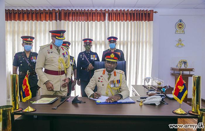 Maj Gen Sampath Kotuwegoda, SLA's 21st Colonel Commandant Takes Office