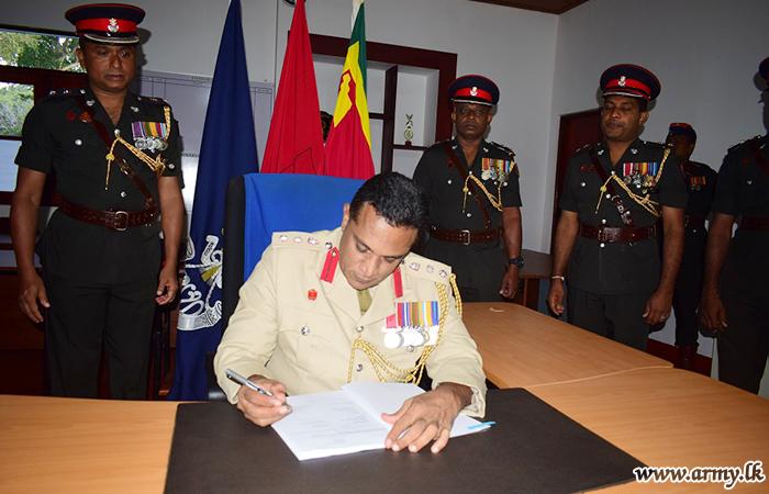 New Brigade Commander 532 Brigade Assumes Office