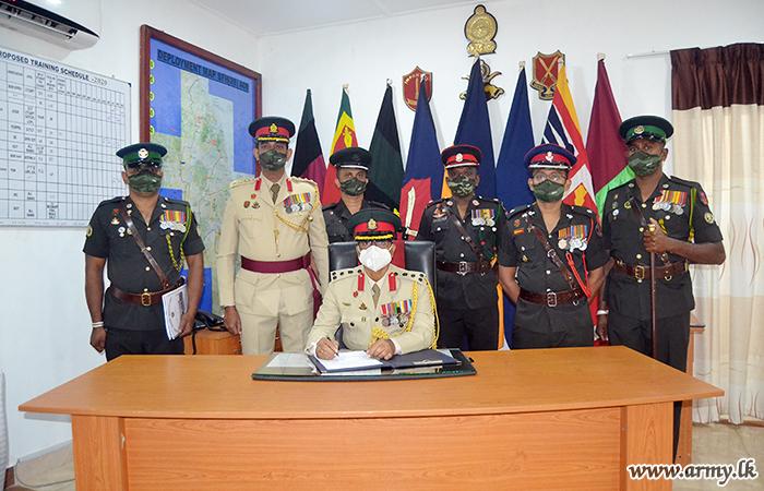 ITC's New Commandant Assumes Office