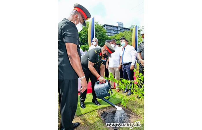 National Drive, 'Husma Dena Thuru' Inaugurated at Army-Developed Walking Track Area in Battaramulla, Sri Jayewardenepura