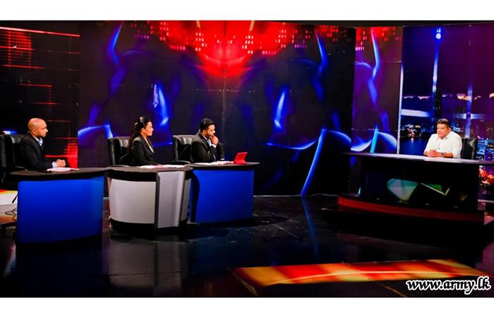 'Mahajana Dinaya' TV Feature in Rupavahini Invites Head NOCPCO