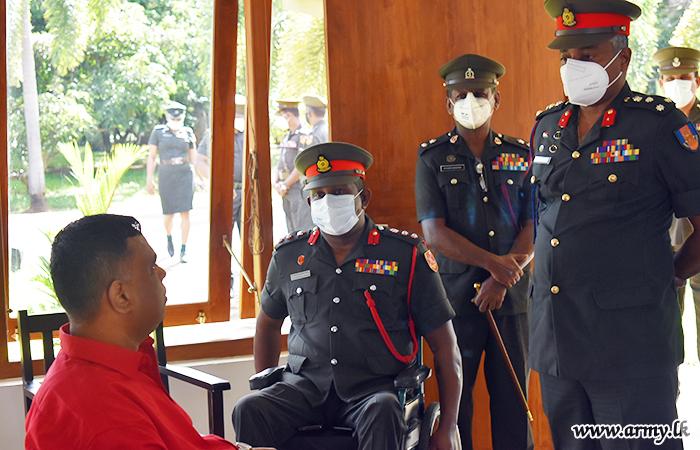 Director Rehabilitation Shares Views with 'Abimansala-3' War Heroes
