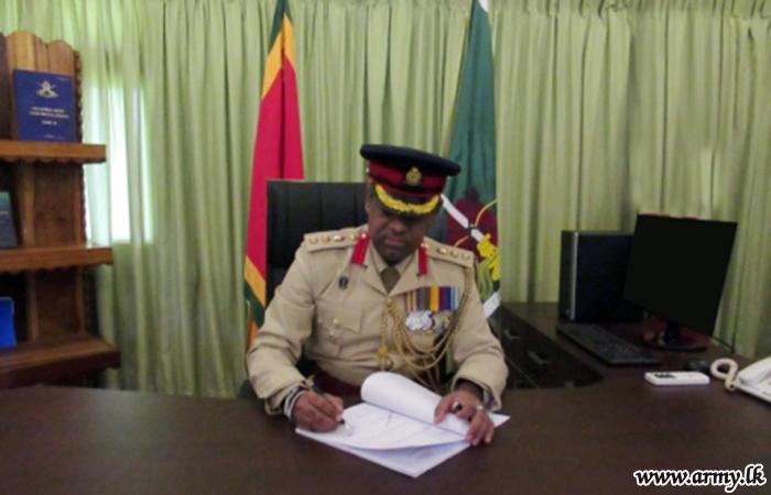 New Brigade Commander of 653 Brigade Assumes Office