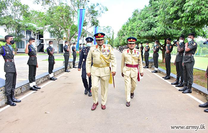 RHQ Troops Bid Farewell to Retiring  SLSC Colonel Commandant & Chief of Staff