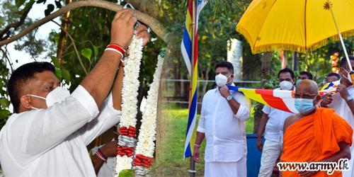 Special 'Kapruk Pooja' at Somawathiya Invokes Blessings for Eradication of COVID-19 Epidemic & the Country