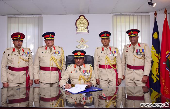 New Central Commander Assumes Duties