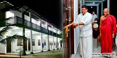 General Shavendra Silva Invited to Open New Utility Building at Pirivena
