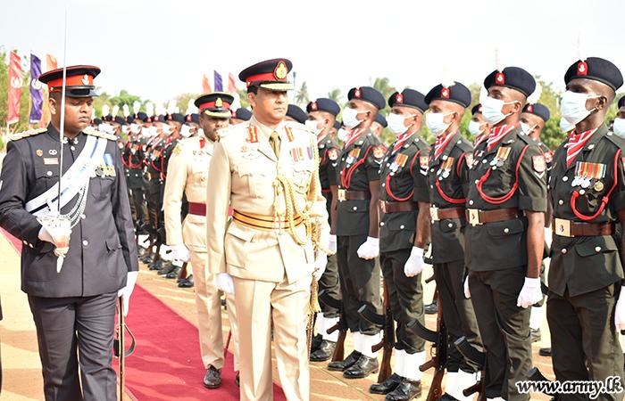 Major General Deepal Pussella, New 51 Division GOC Assumes Office