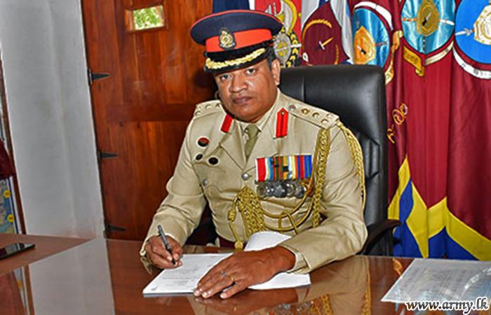 Brig Upali Gunasekera Takes Office as 62 Division's GOC