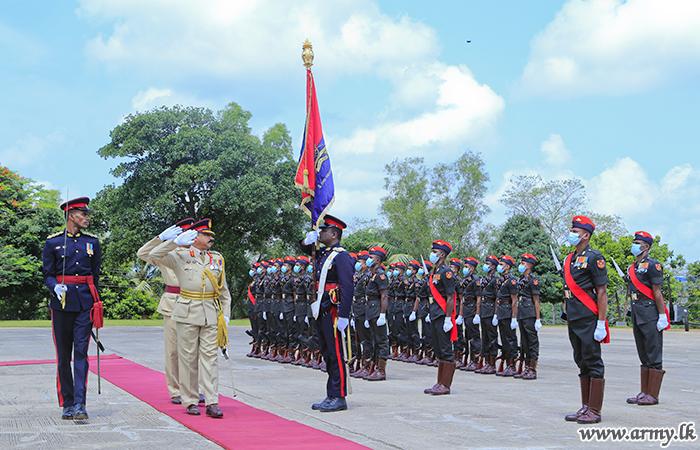 Artillery Regimental Centre Bids Farewell to Major General Sumith Premalal