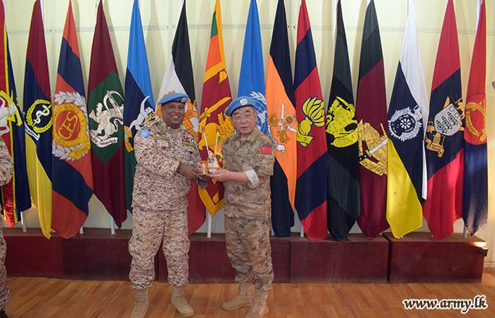 Sector East Commander in MINUSMA Appreciates Role of Departing Sri Lankan CCC
