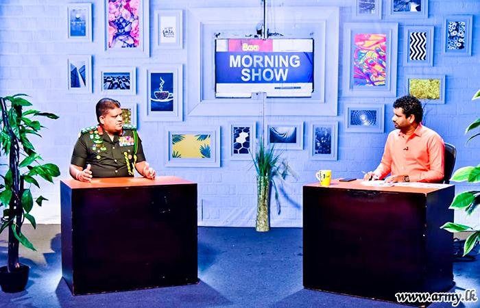 General Shavendra Silva Joins 'Pilisandara' in 'Siyatha' TV