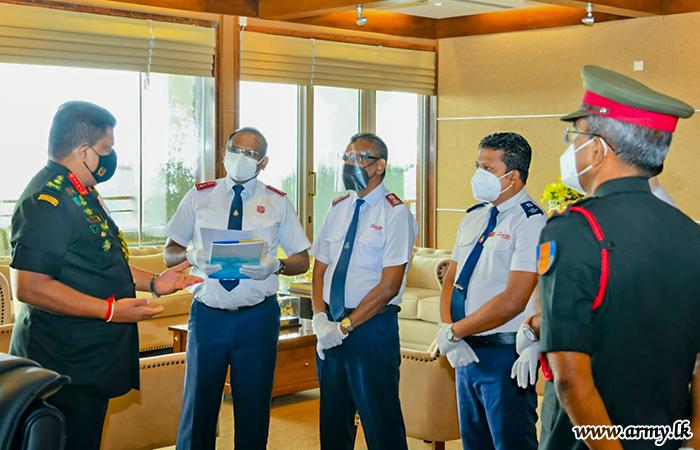 Salvation Army-Donated New Ventilator to be Sent to Ratnapura Base Hospital