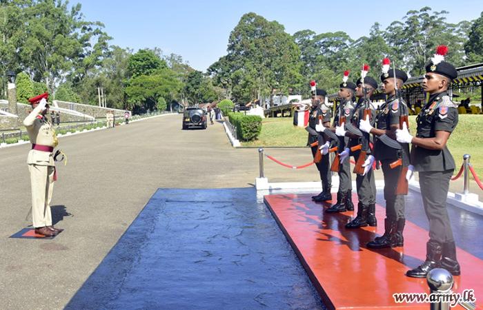 SLMA's New Commandant Assumes Office