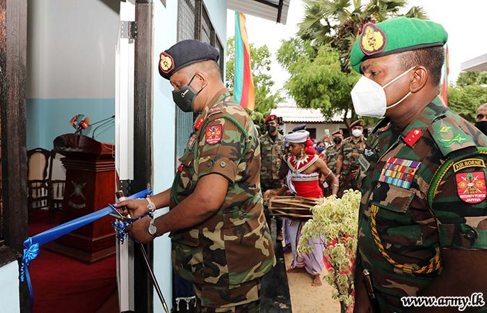 Troops Build Pre-School Building for Navatkuli Kids in Jaffna