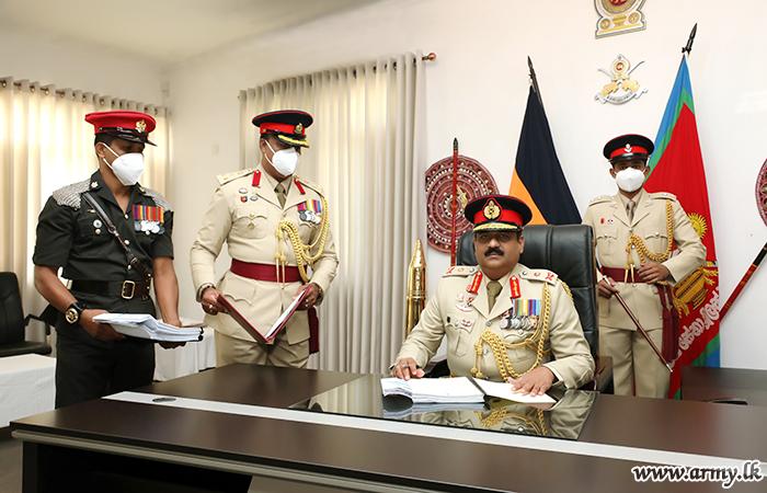 Major General Jagath Kodithuwakku, New Jaffna SF Commander Takes Office