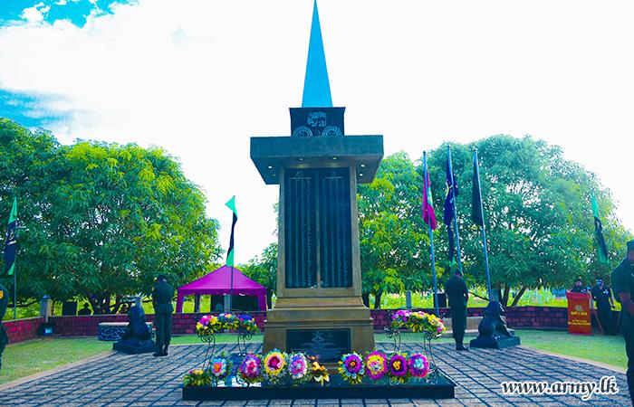 Fallen War Heroes' Memory in Mullaittivu Debacle Remembered Placing Floral Wreaths