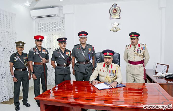New CTS Commandant Assumes Duties