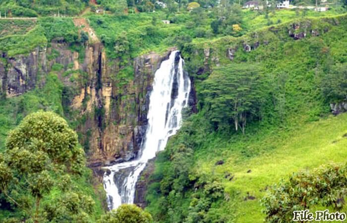 Troops Search Missing Girl in Devon Waterfalls