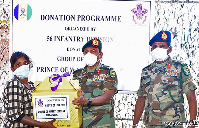 Moratuwa Philanthropists Go to Wanni &Give Dry Rations