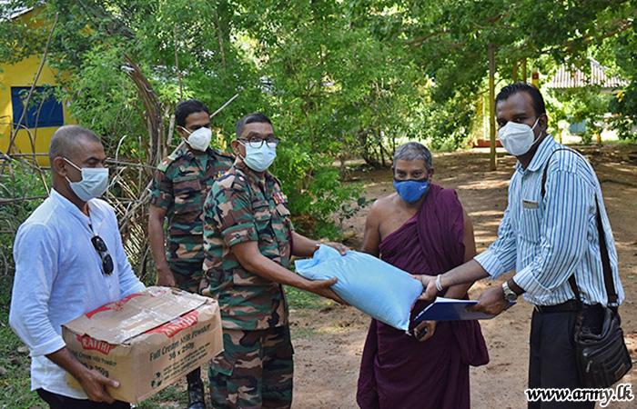 Temples in Welioya Get Relief Packs
