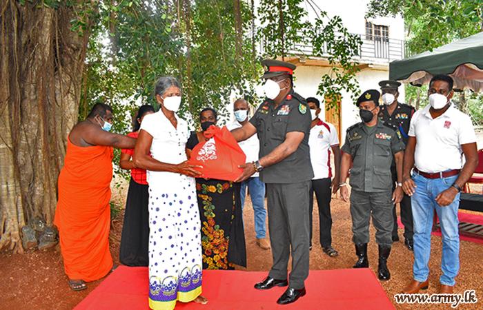 1000 Needy Families Get 'Derana' Relief Packs thru Army Coordination