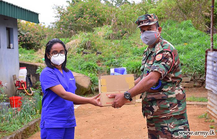 Donor Gifts Essentials to Bindunuwewa ICC