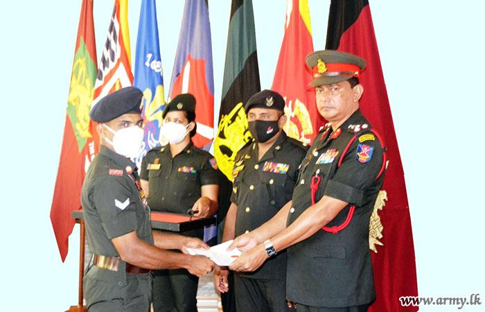 Minneriya ITC Battalion Support Weapon Course Culminates