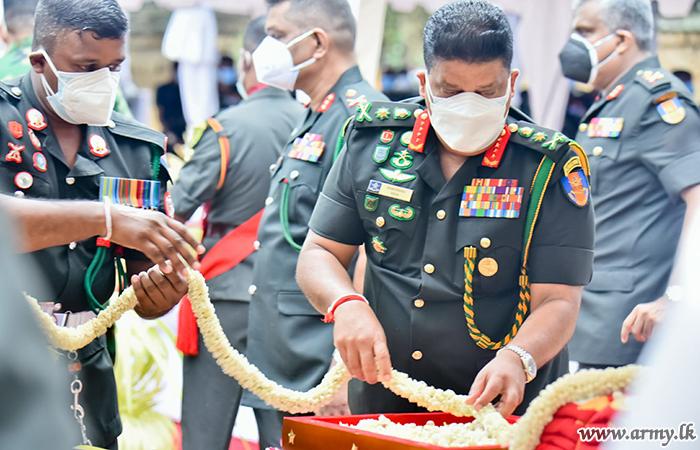 Army Anniversary Blessed at 'Jaya Sri Maha Bodhi' Precincts amid Reverberating Auspicious Drums & Rituals